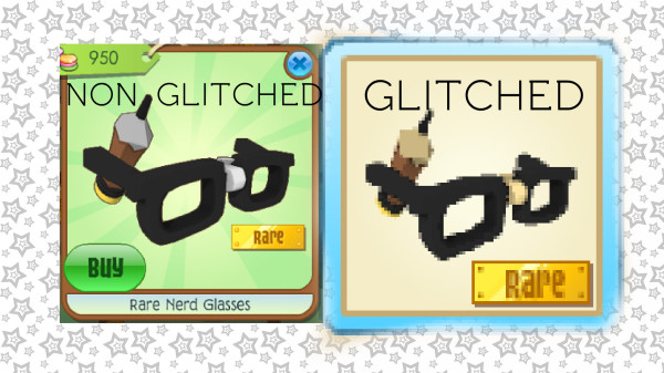 what are rare nerd glasses worth? + glitche'd rare nerd glasses